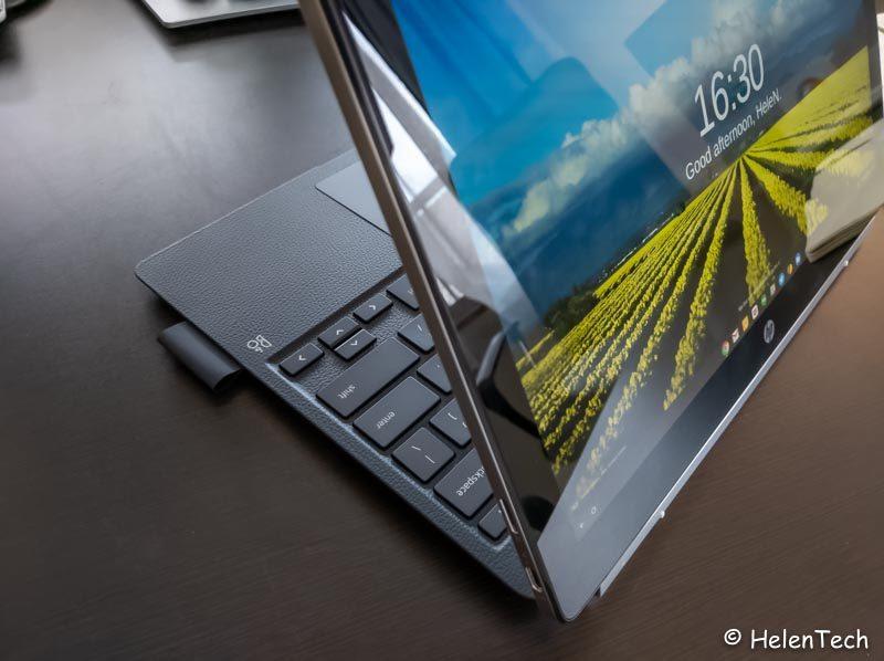 review hp chromebook x2 027 800x598-「HP Chromebook x2」の実機を初見レビュー!Chromebook初の着脱式キーボード搭載モデル