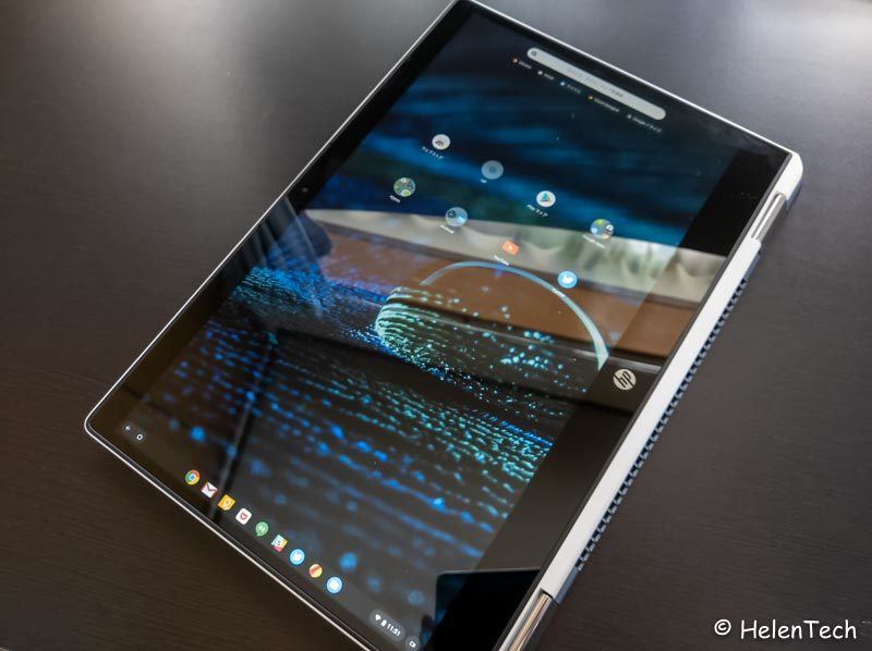 review hp chromebook x360 14 012 800x598-HPの「Chromebook x360 14」を初見レビュー!高級感のあるハイスペックモデル