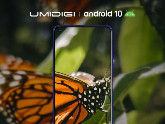 umidigi f2 poster main 640x480-Android 10搭載の「UMIDIGI F2」が9月末に発表とのウワサ。4眼カメラとパンチホールディスプレイ