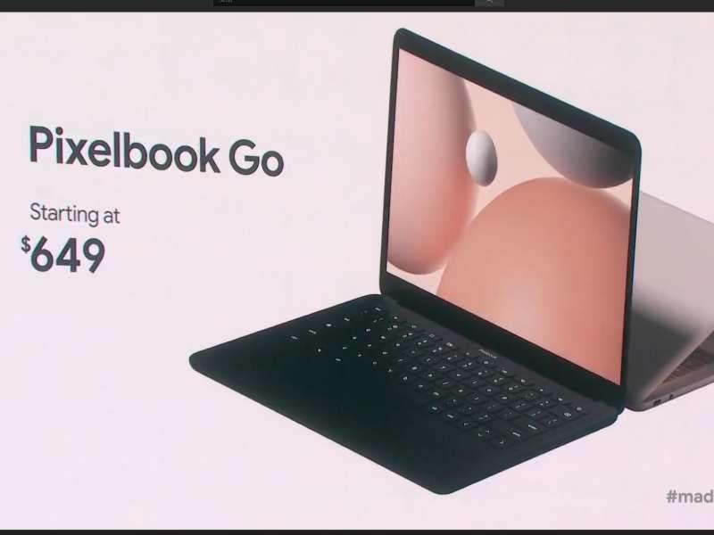 google pixelbook go event 02 800x600-Googleが「Pixelbook Go」をついに発表!軽量ハイスペックなChromebook
