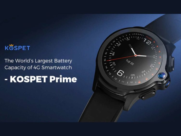 kospet smartwatch phone image 752x564-GearBestで「KOSPET Prime 4Gスマートウォッチ」がプレセール![PR]