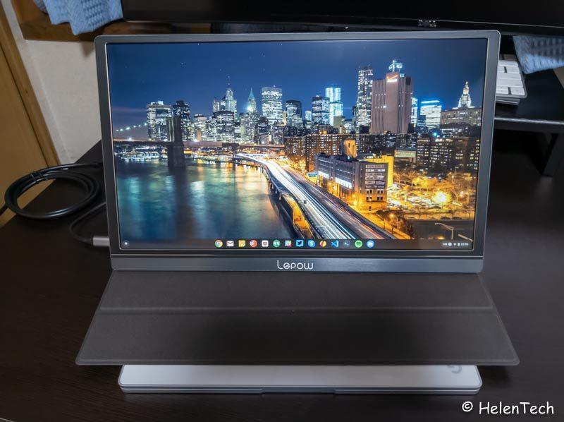 review lepow portable monitor 021 800x598-モバイルディスプレイ「Lepow Z1」をレビュー!15.6インチで2万円以下