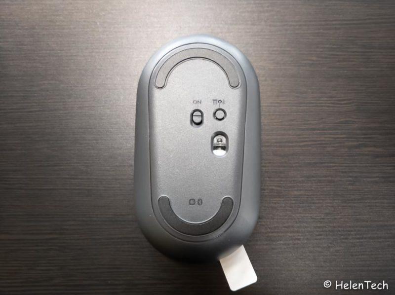 review logicool pebble m350 007 800x598-ロジクールのワイヤレスマウス「Pebble M350」をレビュー!Chromebookに良さそう