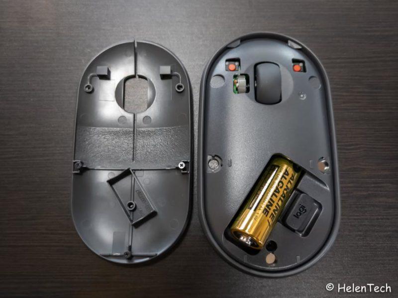 review logicool pebble m350 009 800x598-ロジクールのワイヤレスマウス「Pebble M350」をレビュー!Chromebookに良さそう
