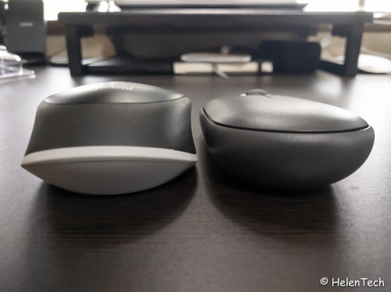 review logicool pebble m350 015 800x598-ロジクールのワイヤレスマウス「Pebble M350」をレビュー!Chromebookに良さそう