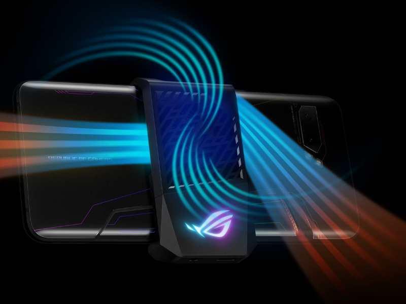 asus rog phone 2 air flow-ASUSの「ROG Phone 2」を実機レビュー。ゲーミングスマホでも普通に使える!