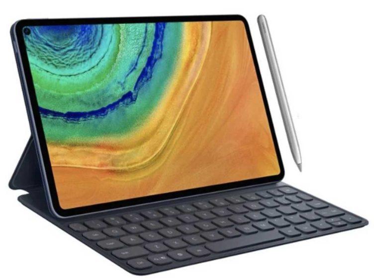 leak image huawei matepad pro 752x564-ファーウェイの「MatePad Pro」はパンチホールを採用して、iPad Proみたいな雰囲気になる?