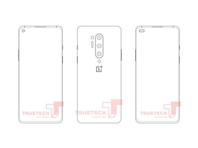 rumor sketch leak oneplus 8 pro 752x564-「OnePlus 8 Pro」のスケッチが登場。クアッドカメラとパンチホールディスプレイ?