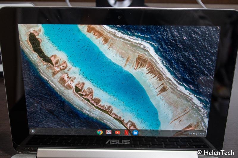 C101PA 006-ASUSの「Chromebook Flip C101PA」を購入したのでレビュー!コンパクトで持ち運びに最適なモデル