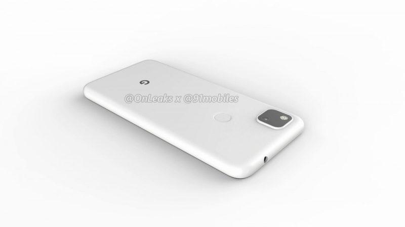 Google Pixel 4a 10 800x449-Googleの「Pixel 4a」のレンダリングがリーク。パンチホールと背面指紋センサ
