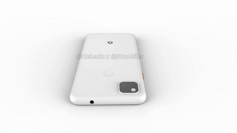Google Pixel 4a 11 800x449-Googleの「Pixel 4a」のレンダリングがリーク。パンチホールと背面指紋センサ