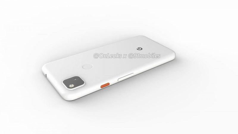 Google Pixel 4a 12 800x449-Googleの「Pixel 4a」のレンダリングがリーク。パンチホールと背面指紋センサ