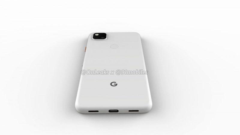 Google Pixel 4a 8 800x449-Googleの「Pixel 4a」のレンダリングがリーク。パンチホールと背面指紋センサ
