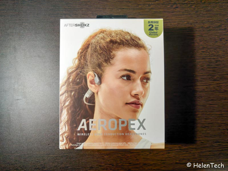 Review Aftershokz Aeropex 001-AfterShokzの骨伝導ワイヤレスヘッドホン「Aeropex」をレビュー。普段使いもあり