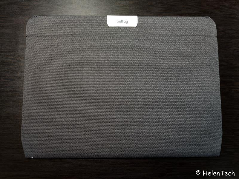 review bellroy laptop sleeve for google 011-ベルロイの「Laptop Sleeve for Google」を購入したのでレビュー!やっぱPixelbookシリーズ用だな…