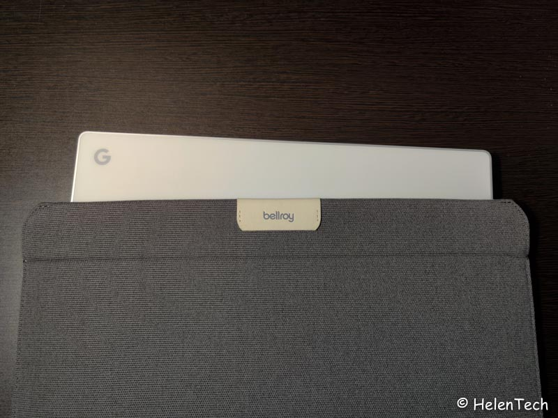 review bellroy laptop sleeve for google 018-ベルロイの「Laptop Sleeve for Google」を購入したのでレビュー!やっぱPixelbookシリーズ用だな…