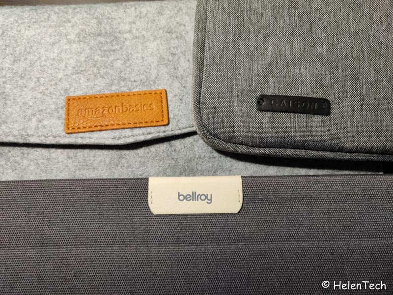 review bellroy laptop sleeve for google 024-ベルロイの「Laptop Sleeve for Google」を購入したのでレビュー!やっぱPixelbookシリーズ用だな…