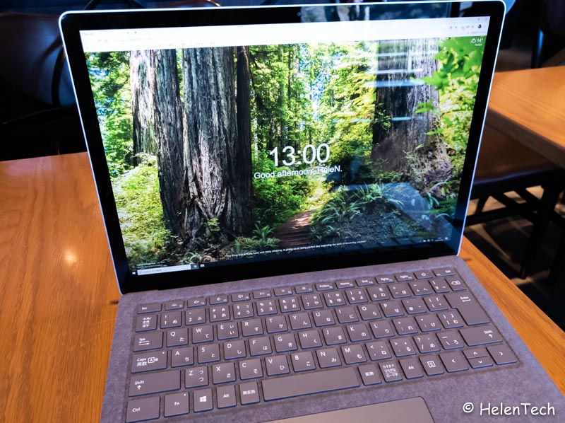 review ms surface laptop 3 012-マイクロソフト「Surface Laptop 3 13.5インチ」のCore i5、Alcantaraモデルを実機レビュー!