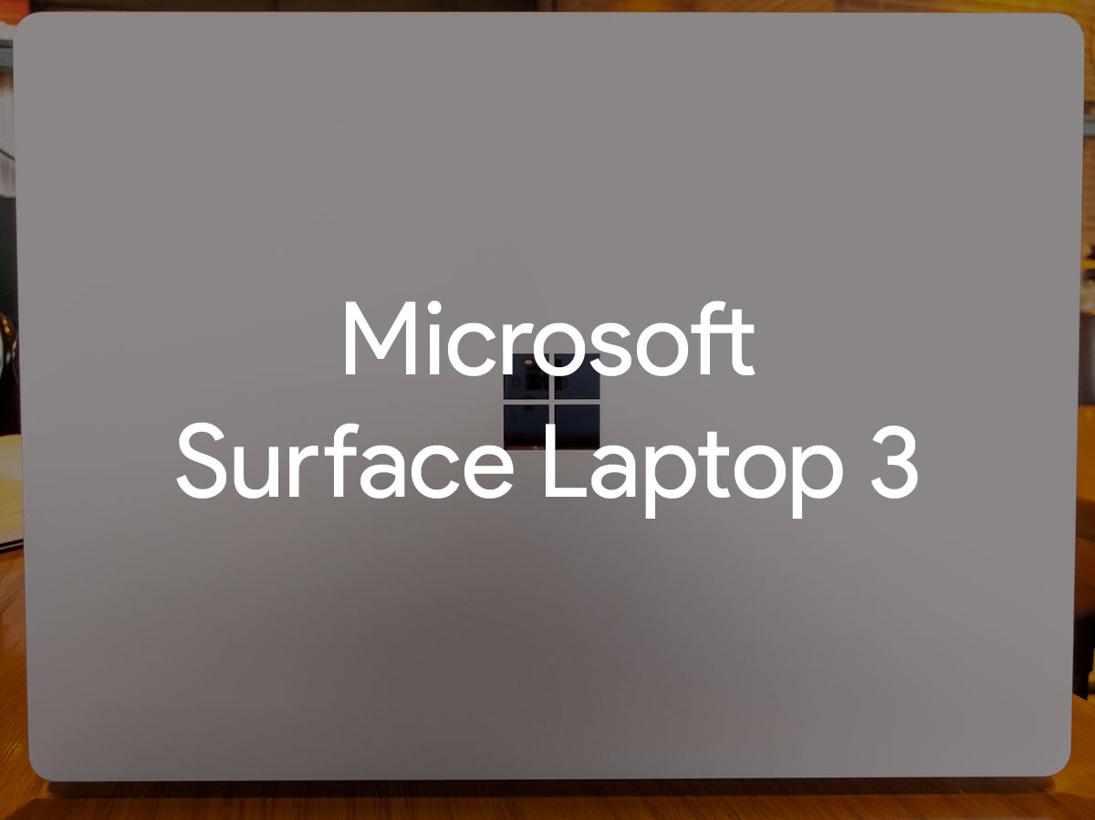 review surface laptop 3 image-マイクロソフト「Surface Laptop 3 13.5インチ」のCore i5、Alcantaraモデルを実機レビュー!