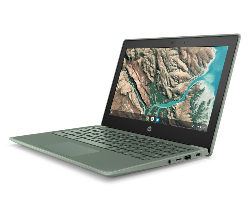 HP Chromebook 11 G8 EE Sage Green Front Left-HPがChromebook「11 / 11A G8 EE」、「x360 11 G3 EE」、「14 G6」を発表