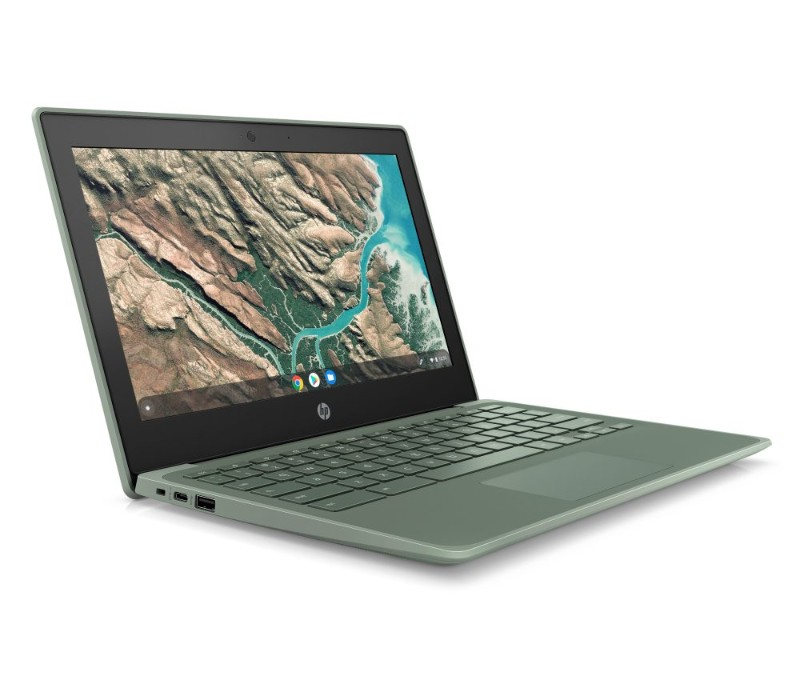 HP Chromebook 11 G8 EE Sage Green Front Right-HPがChromebook「11 / 11A G8 EE」、「x360 11 G3 EE」、「14 G6」を発表
