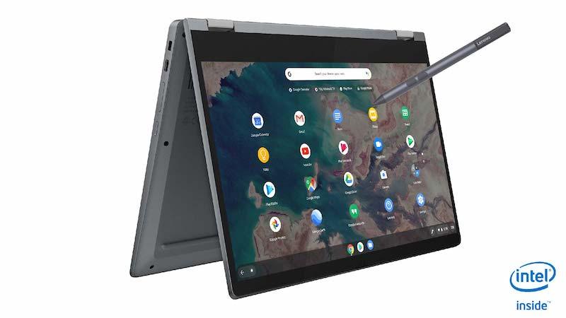 Lenovo IdeaPad Flex 5 Chromebook 1-Lenovoが新しく「IdeaPad Flex 5 Chromebook」も発表。13インチ第10世代Core、Thunderbolt 3搭載