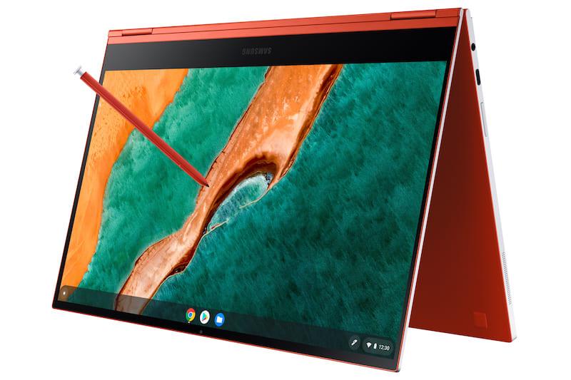 Samsung galaxy chromebook image 9-Samsungが「Galaxy Chromebook」をCES 2020で発表。4Kディスプレイに第10世代Coreシリーズ採用