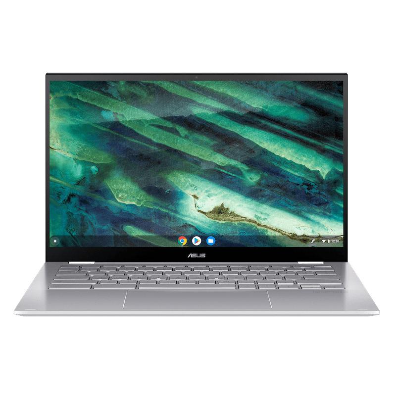asus chromebook flip c436 image 3-ASUSがついに「Chromebook Flip C436FA」をCES 2020で発表!指紋センサとUSIスタイラスペン対応