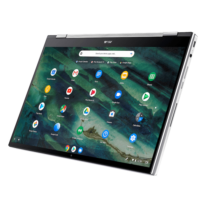 asus chromebook flip c436 image 7-ASUSがついに「Chromebook Flip C436FA」をCES 2020で発表!指紋センサとUSIスタイラスペン対応