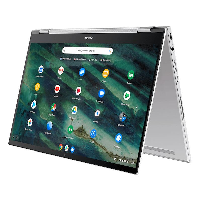 asus chromebook flip c436 image 8-ASUSがついに「Chromebook Flip C436FA」をCES 2020で発表!指紋センサとUSIスタイラスペン対応