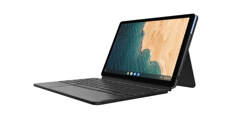 lenovo ideapad duet chromebook image 1-Lenovoが「IdeaPad Duet Chromebook」を発表。ついに10.1インチでキックスタンド付きカバーを採用