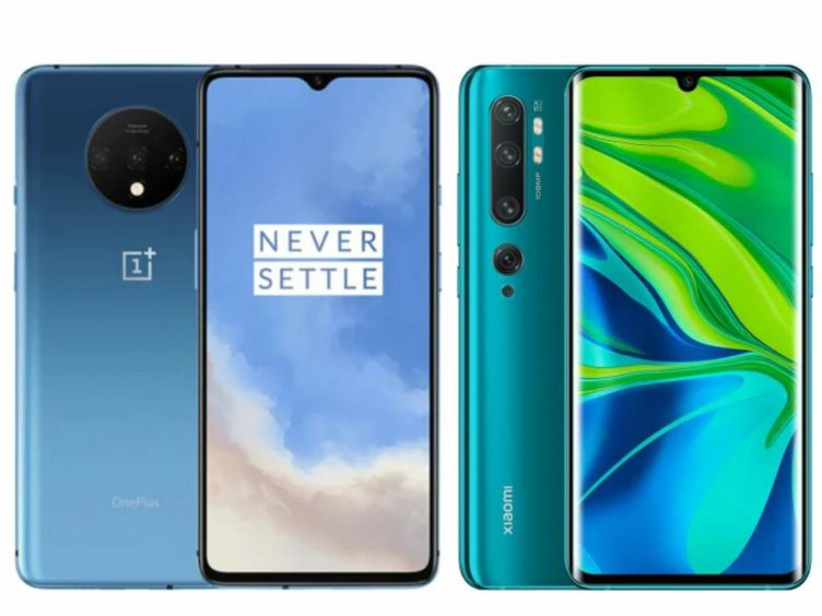 oneplus 7t and xiaomi note10 752x564-GearBestで「OnePlus 7T」や「Xiaomi Mi Note 10」などがクーポンセールでお買い得![PR]