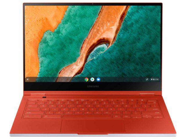 samsung galaxy chromebook image 640x480-米国Amazonに「Samsung Galaxy Chromebook」が登場。 Fiesta RedとMercury Grayの2色とも直送可能