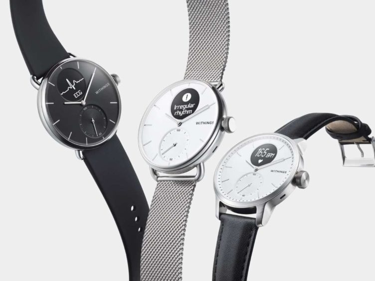 withings scanwatch image 752x564-Withingsが「ScanWatch」というスマートウォッチを発表。心電図や睡眠時無呼吸検出機能も追加