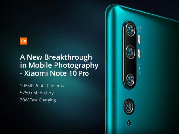 xiaomi mi note 10 pro image 752x564-GearBestで「Xiaomi Mi Note 10 Pro」が6万円前半になるクーポンセール開催中![PR]