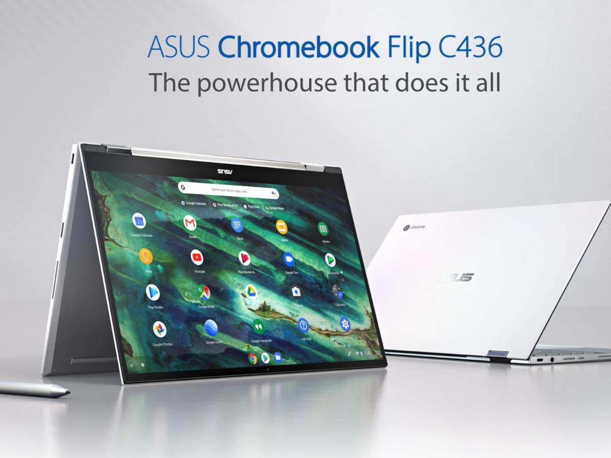 ASUS chromebook flip c436fa main image-ASUS Chromebook Flip C436 のi3とi5モデルが米国Amazonで再登場。日本直送可