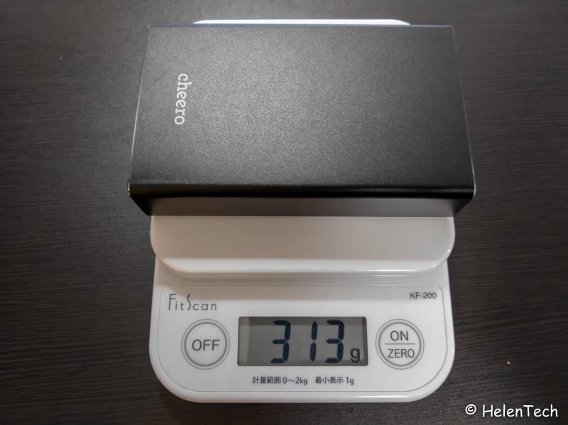 Review cheero power plus 5 004-PD45W出力のモバイルバッテリー「cheero Power Plus 5 15000mAh」をレビュー!Chromebookに良いかも
