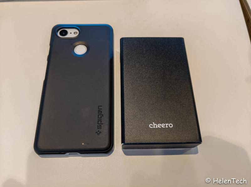 Review cheero power plus 5 009-PD45W出力のモバイルバッテリー「cheero Power Plus 5 15000mAh」をレビュー!Chromebookに良いかも