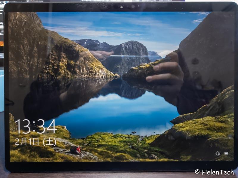 Review microsoft surface pro x 013-マイクロソフトの「Surface Pro X」をレビュー!常時LTEは魅力だけどARMベースが悩ましいモデル
