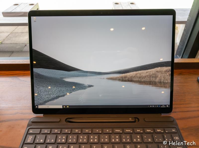 Review microsoft surface pro x 027 1-マイクロソフトの「Surface Pro X」をレビュー!常時LTEは魅力だけどARMベースが悩ましいモデル
