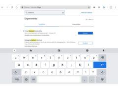 new chromebook tablet keyboard 240x180-Chromebookのタブレットモードで、キーボードのデザインがiPadみたいになるかも
