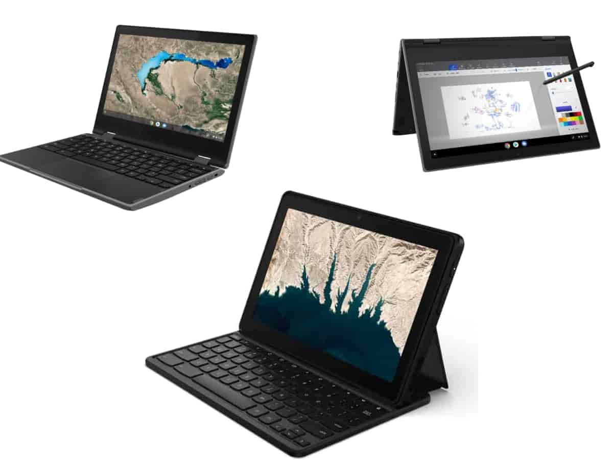 lenovo chromebook 3models-Lenovoが「300e / 500e Chromebook 2nd Gen」と「10e Chromebook Tablet」を発表。GIGAスクール構想に準拠