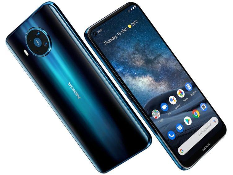 nokia 8 3 5g official Render 752x564-HMD Globalが「Nokia 8.3 5G」、「Nokia 5.3」、「Nokia 1.3」、「Nokia 5310」を発表