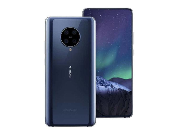 nokia9 2 pureview render 752x564-「Nokia 9.2」のレンダリング画像がリーク。クアッドカメラ搭載の可能性