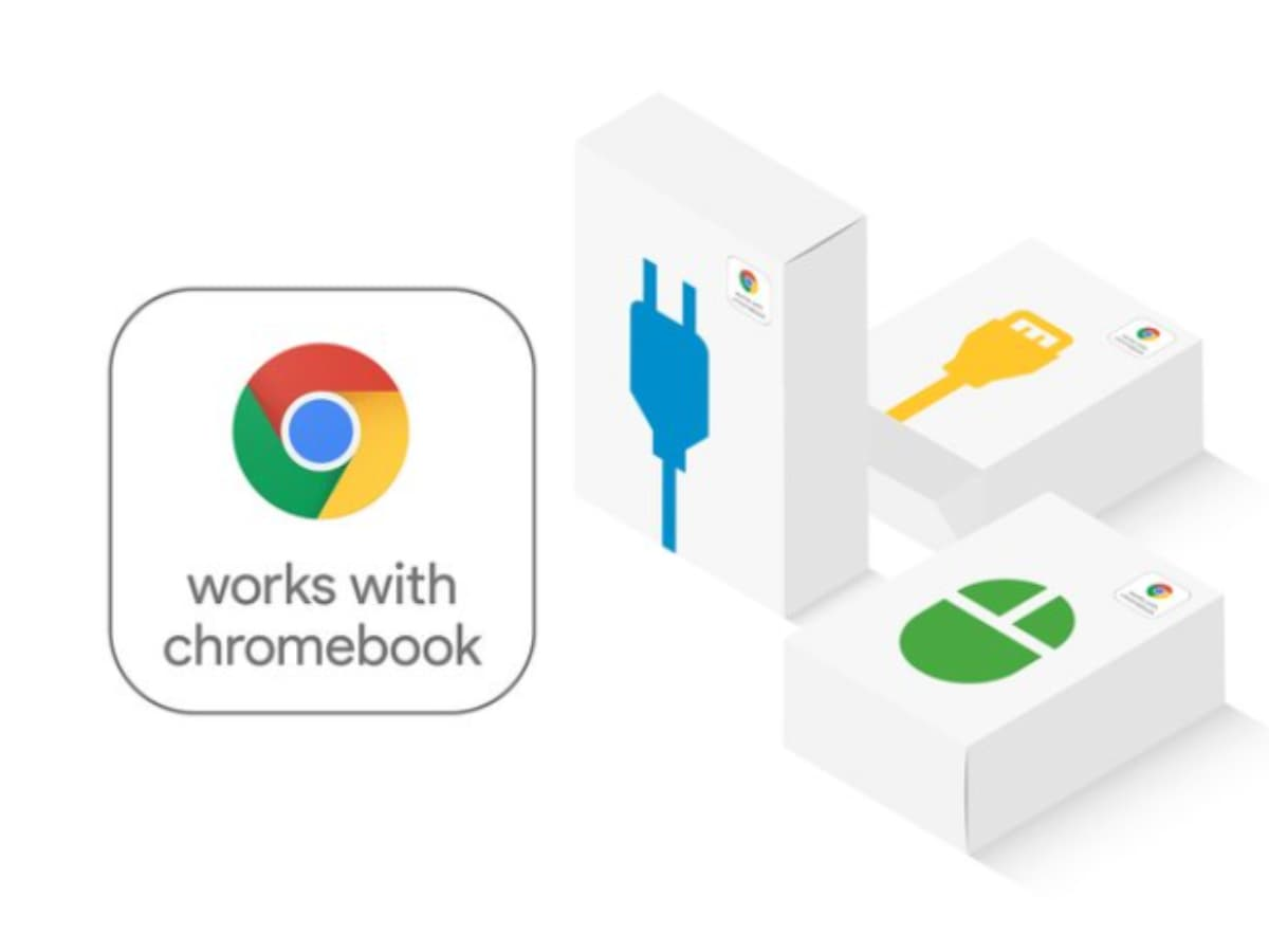 "works with chromebook logo-Googleが""works with chromebook""のロゴを互換性確認済み周辺機器に導入"