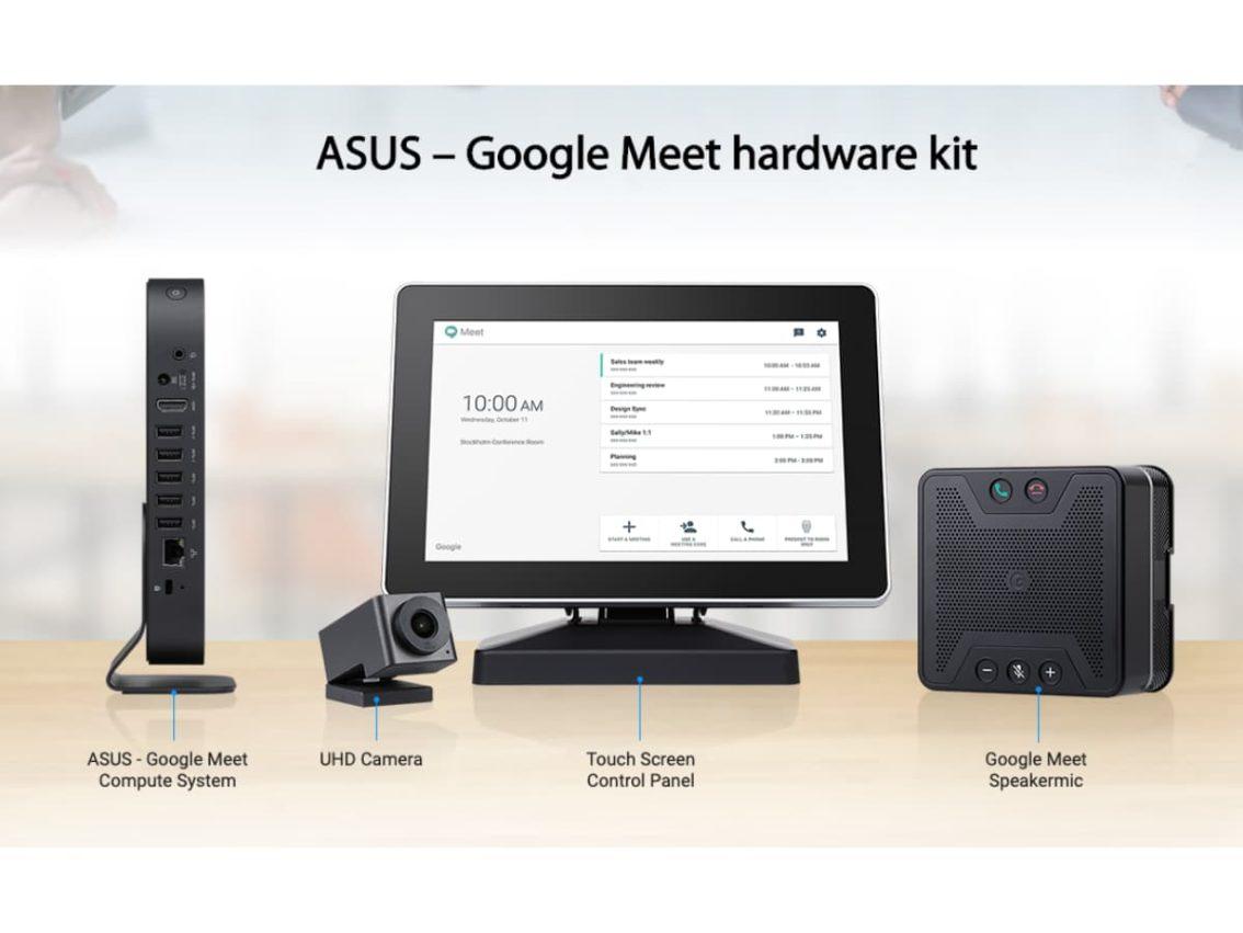 ASUS Google Meet Compute System 1134x851-ASUSが「Google Meet ハードウェアキット」を海外で発表。Chrome OS搭載ビデオ会議システム