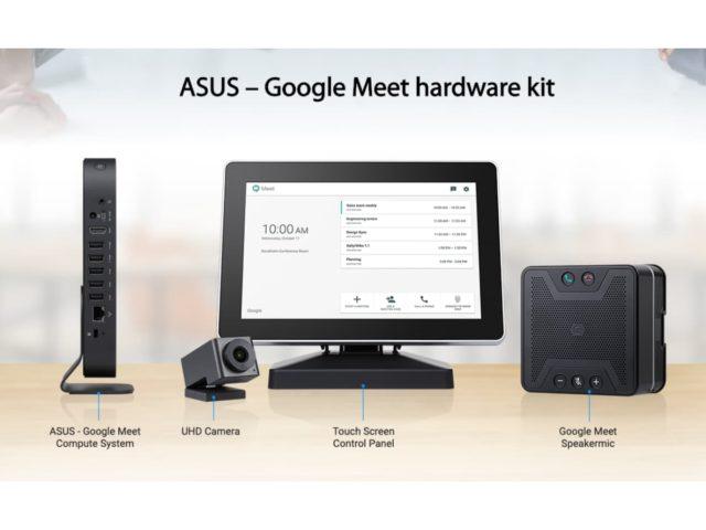 ASUS Google Meet Compute System 640x480-ASUSが「Google Meet ハードウェアキット」を海外で発表。Chrome OS搭載ビデオ会議システム