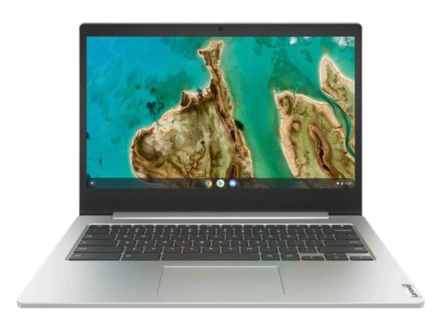 "lenovo chromebook 3 14 silver 640x480-Lenovoが14インチの「Chromebook 3 (14"")」を海外で発売開始。250ドルからの低価格モデル"
