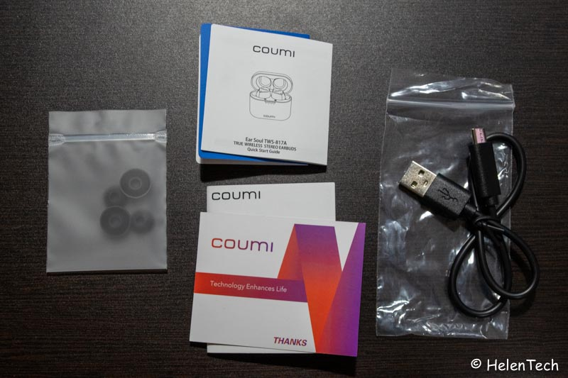 review coumi tws 005-低価格な完全ワイヤレスイヤホン「COUMI TWS-817A」をレビュー