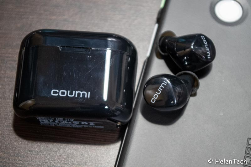 review coumi tws 014-低価格な完全ワイヤレスイヤホン「COUMI TWS-817A」をレビュー